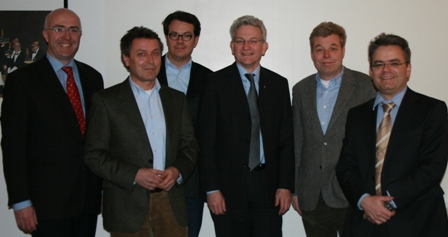 BIG-FSS Vorstand mit Herrn Klaus Harzendorf